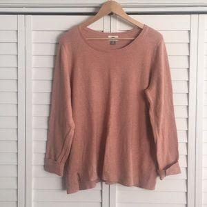 Old Navy pink/mauve  Crew neck sweater